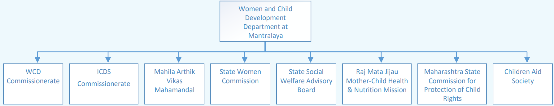 Organizational Structure : Women and Child Development